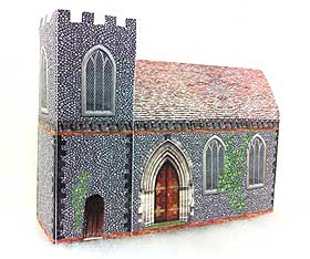 St. Mary's Church model