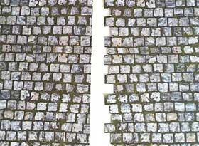 Image of model paving join