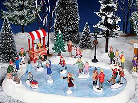 christmas village displays