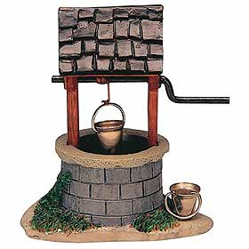 Photograph of a model wishing well
