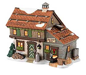 Photo of Goat Herder's House, in the Department 56 Alpine Village Series