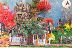 Lemax model Spooky Town village
