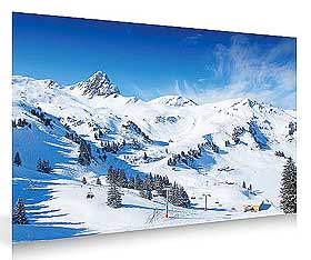 Further image of snowy background, sold by Lemax
