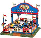Lemax Crazy Cars picture - Christmas Village