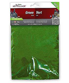Further image of a different coloured green scatter powder