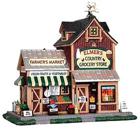 Earl's Farmers Market picture from the Lemax Harvest Crossing Collection