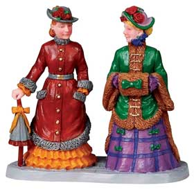 Lemax Winter Finery figures